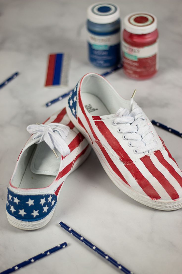 Awesome Painting Shoes Tutorial: Easy, Cheap, and Quick!