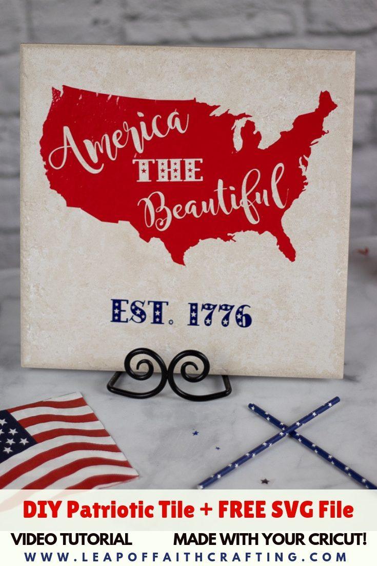 patriotic home decor pin
