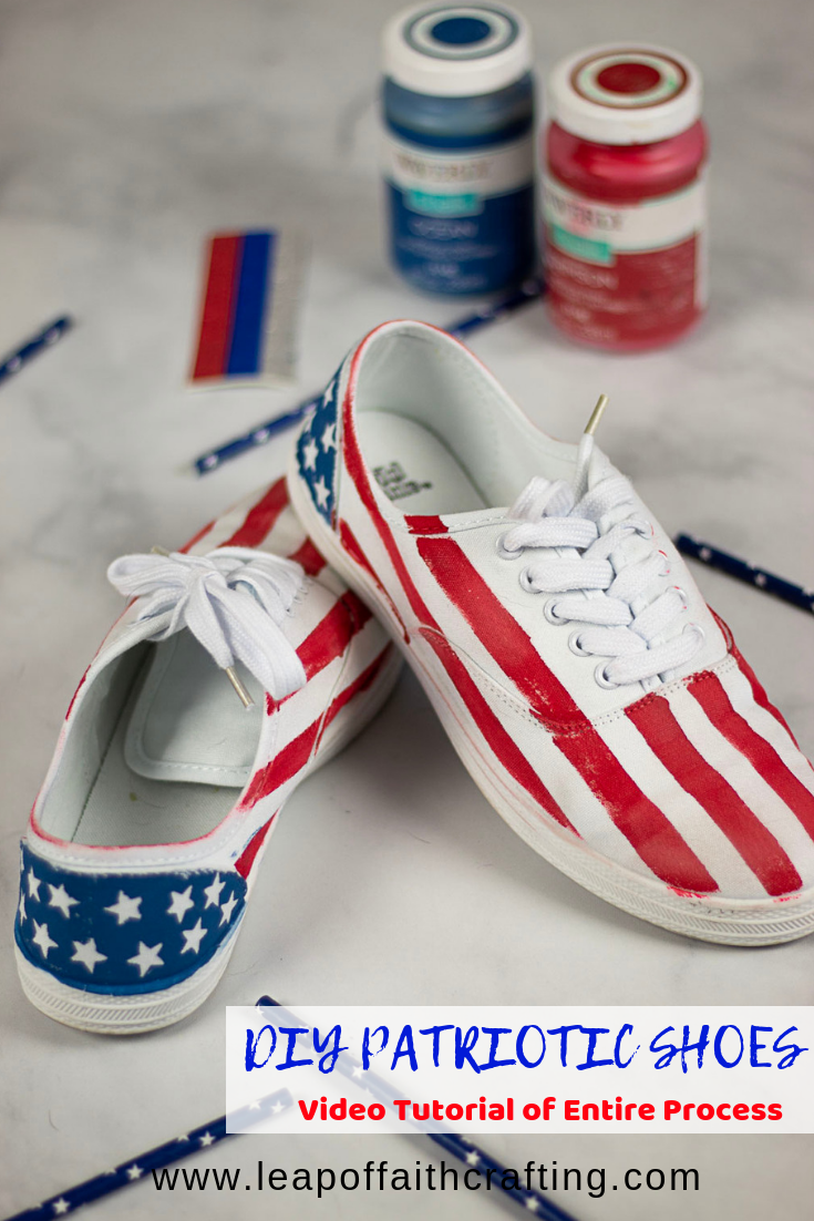 Awesome Painting Shoes Canvas Tutorial: Easy, Cheap, and