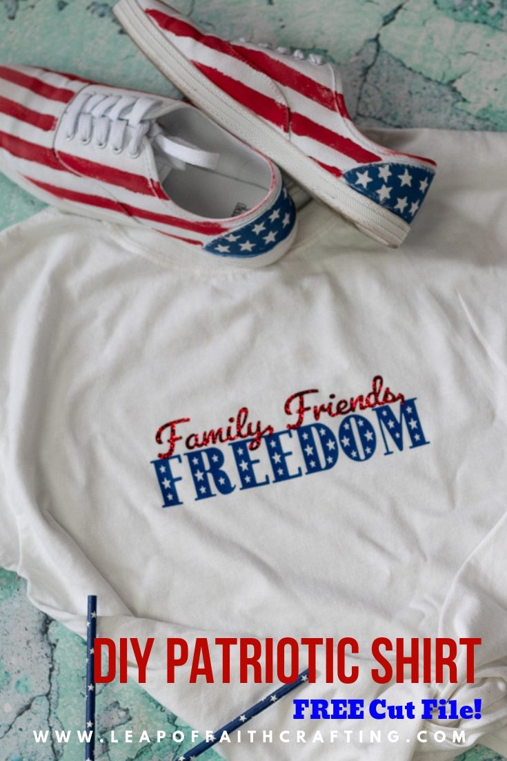 patriotic t shirts pin