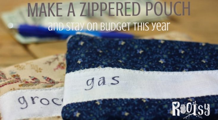 Tame Your Budget With a Lined Zippered Pouch Tutorial