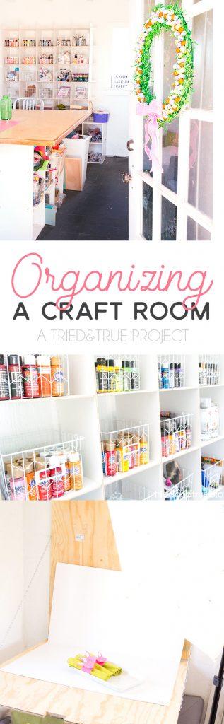 Organizing the Craft Cottage