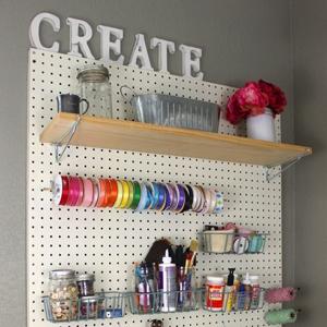 Easy Craft Room Ideas - Cutesy Crafts