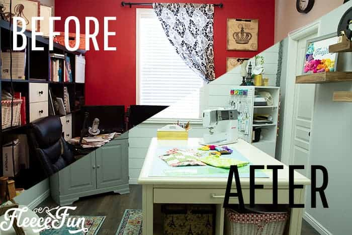 Craft Room Ideas: Makeover Final Reveal (and it's amazing)