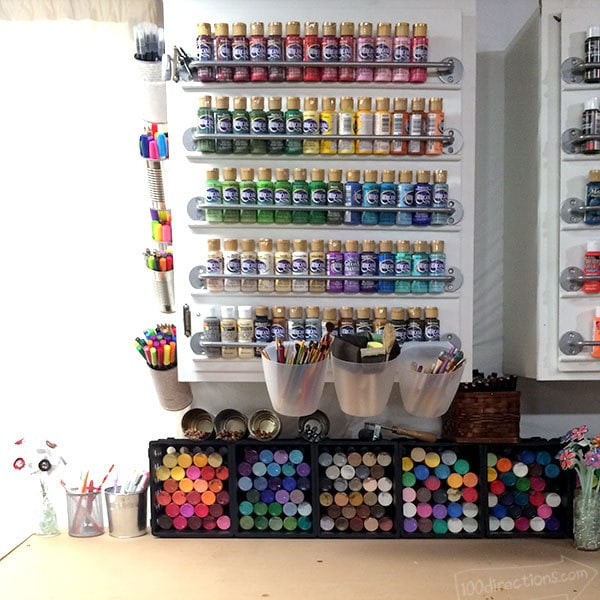 Craft Room Tour - a look inside my creative work space