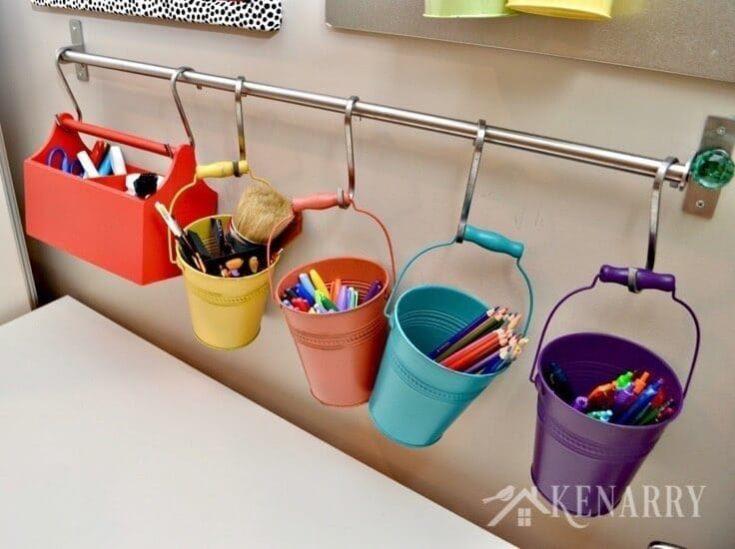 Craft Room Organization: 5 Easy and Creative Ideas