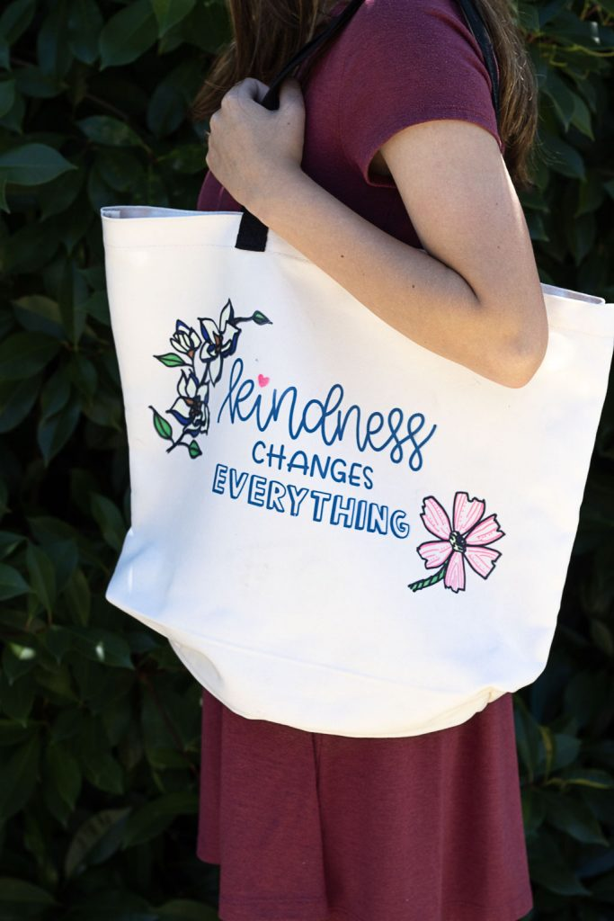 infusible ink tote