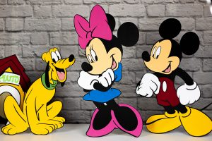 mickey mouse cut out