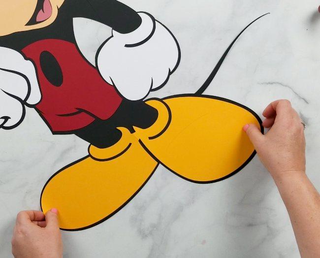 mickey mouse cricut diy