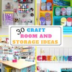 organizing craft supplies pin