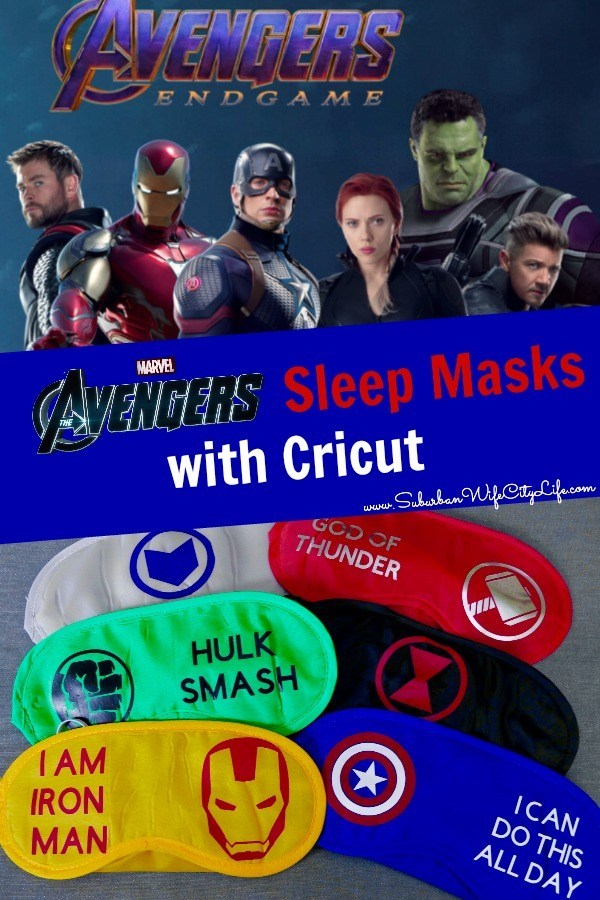 Avengers Sleep Masks