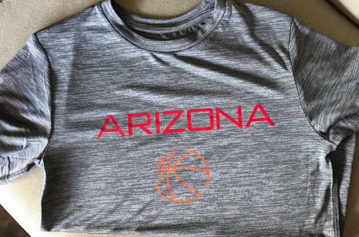 How to use SportsFlex Iron-On to make a basketball shirt
