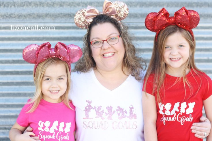 Squad Goals DIY Disney Shirts - Liz on Call