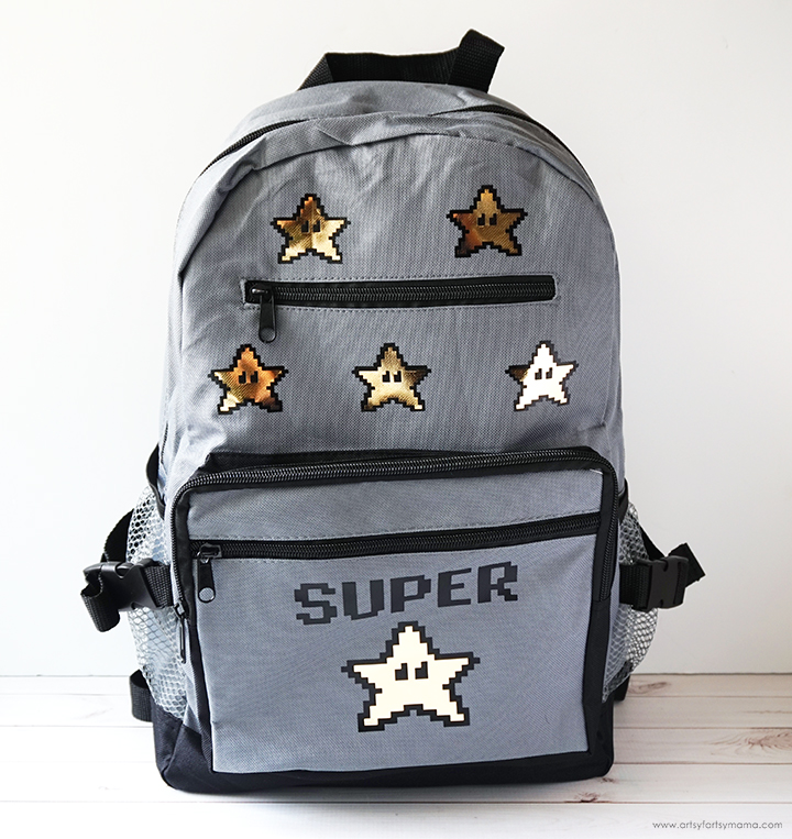DIY Super Star Backpack and Lunchbox