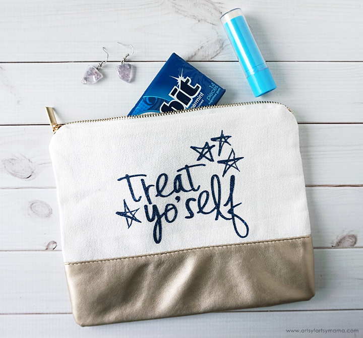 Treat Yo' Self Zippered Pouch