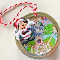 Disney Theme Park Map Christmas Ornament