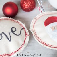 Adorable Handmade Christmas Ornaments