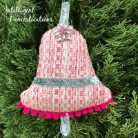 Sew Your Own Christmas Bell Ornament