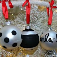Kate Spade DIY Christmas Ornament