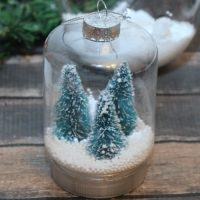 Mini Mason Jar Christmas Ornament