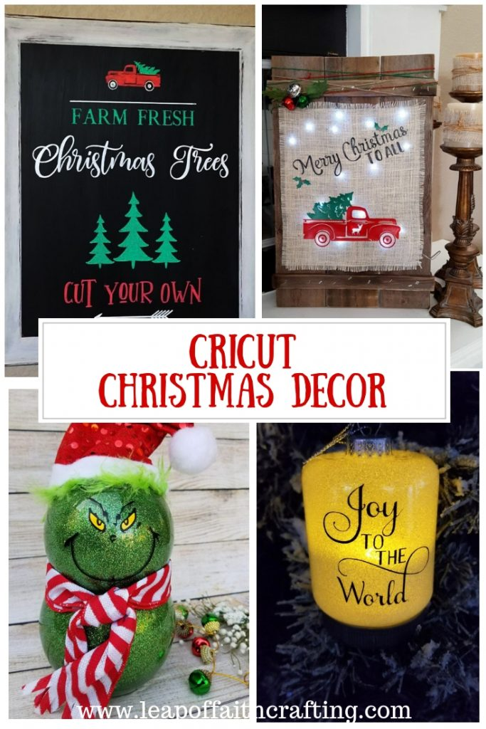 diy christmas decor cricut