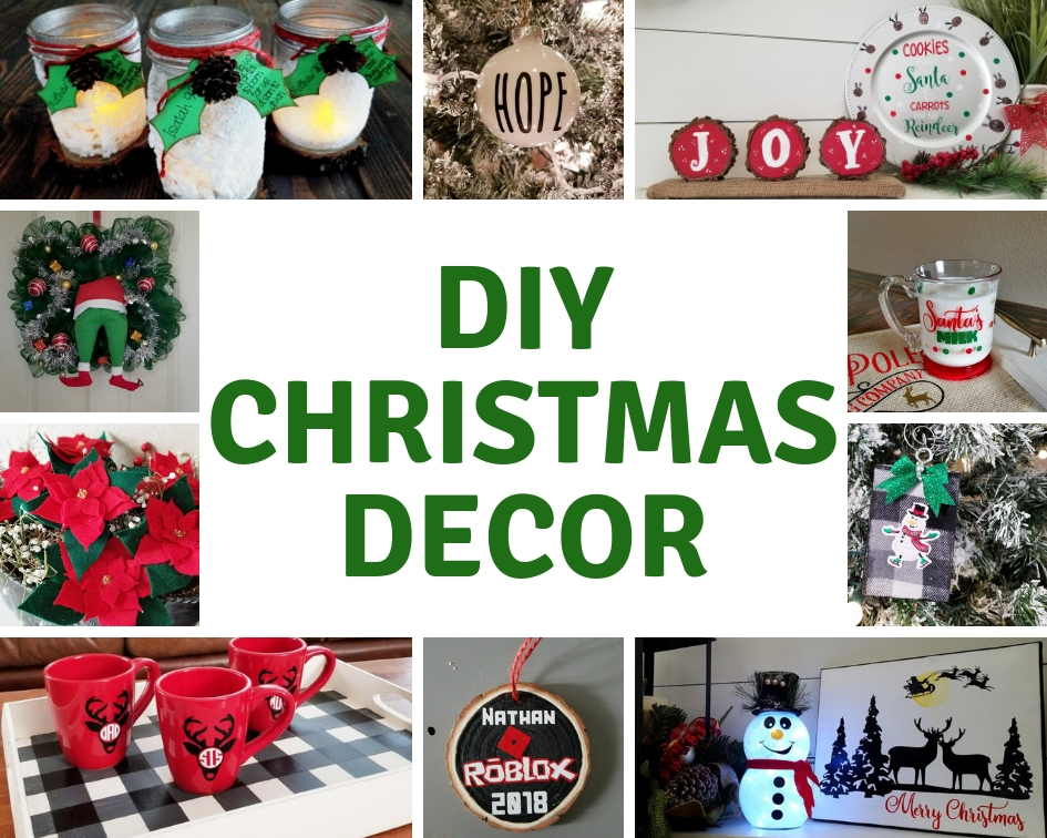 diy christmas decor pinterest