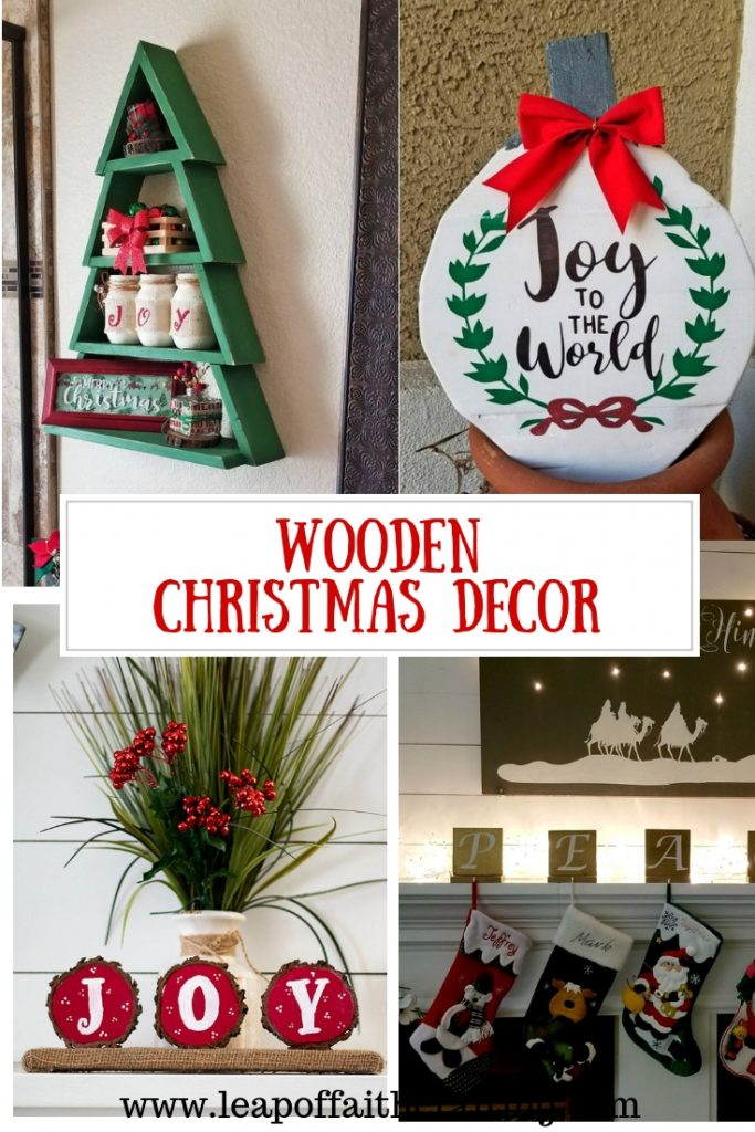 diy christmas decor wooden