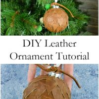DIY Leather Ornament Tutorial