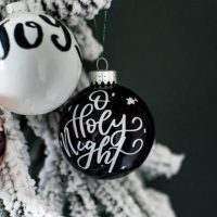 DIY Handlettered Ornaments - 3 Ways to Make Them!