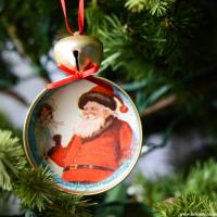 Mason Jar Lid Ornaments | DIY Christmas Ornaments