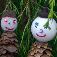 Pine Cone Ornaments