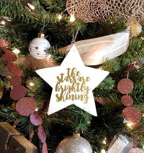 Christmas SVG Star Ornament - Crafting in the Rain