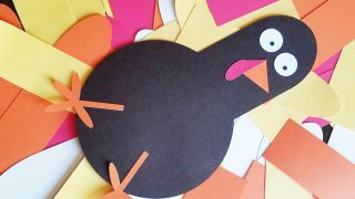 Thanks-Giving Turkey: Gratitude Activity for Kids and Families