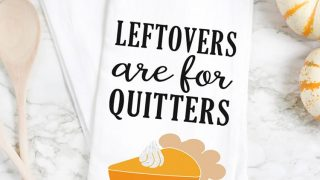 Free Thanksgiving SVG: Leftovers are for Quitters