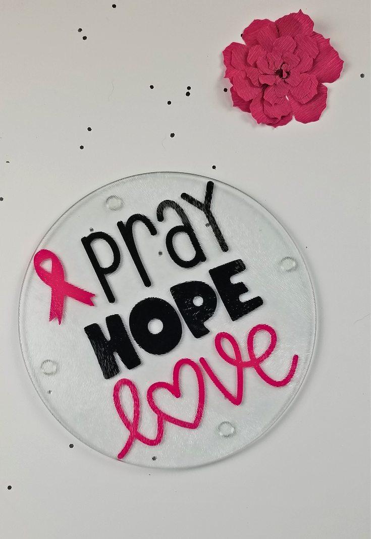 breast cancer fundraiser decor