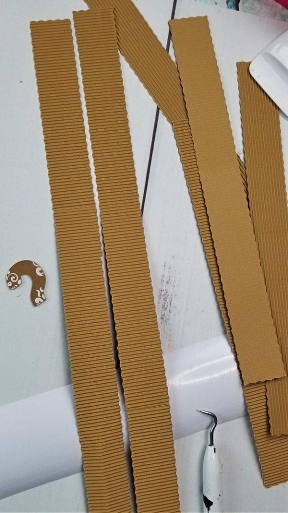 corrugated cardboard cricut