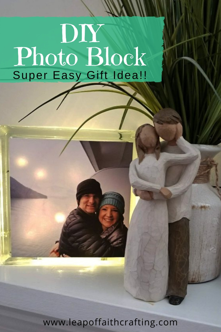 glass photo block pinterest