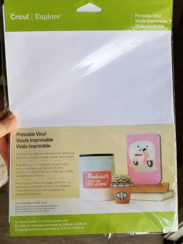 printable vinyl cricut