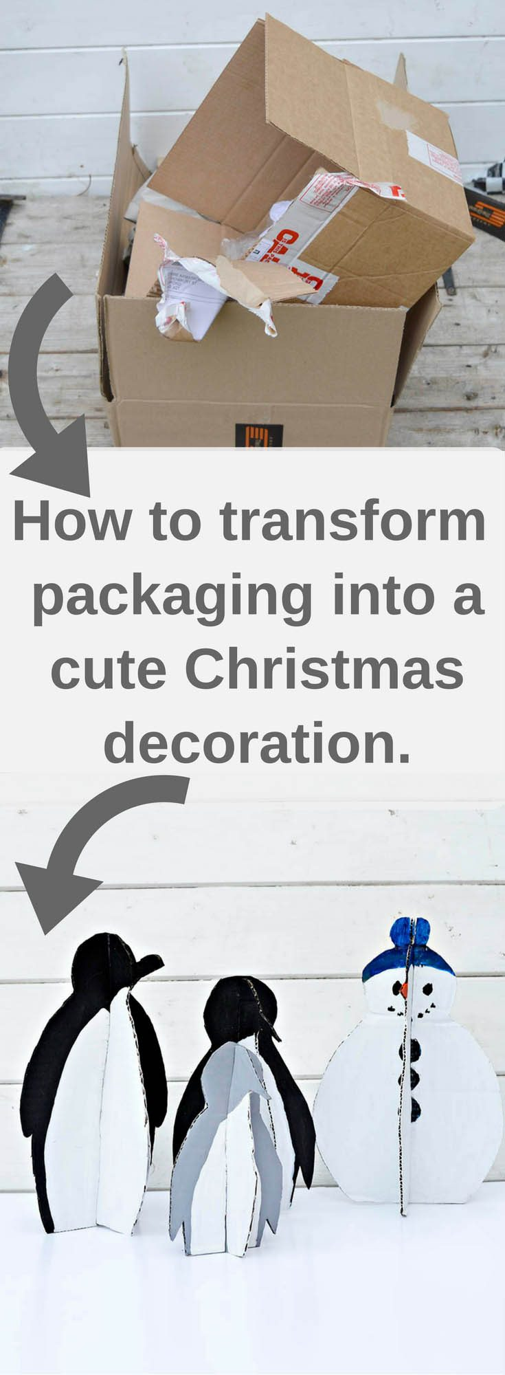 Fun DIY Christmas Decorations: Penguins
