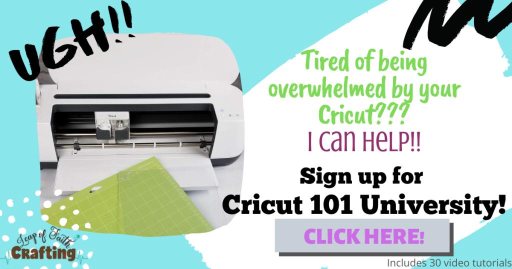 cricut 101 course