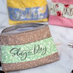 diy personalised makeup bags