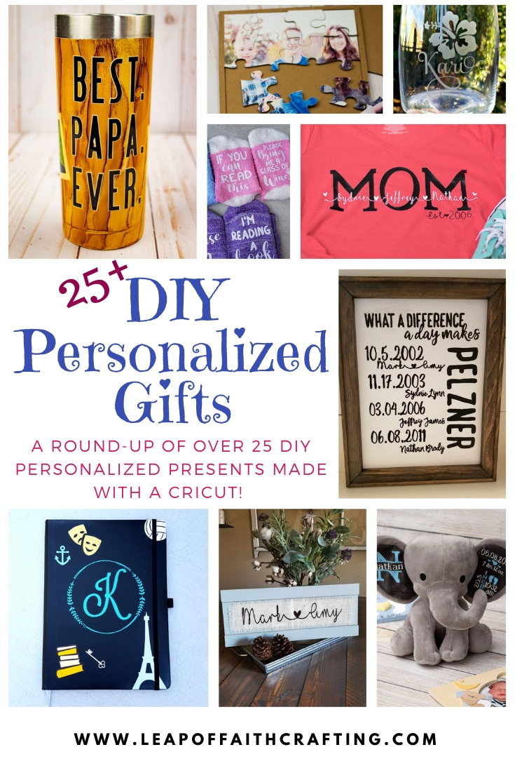 diy personalized gifts cricut pinterest