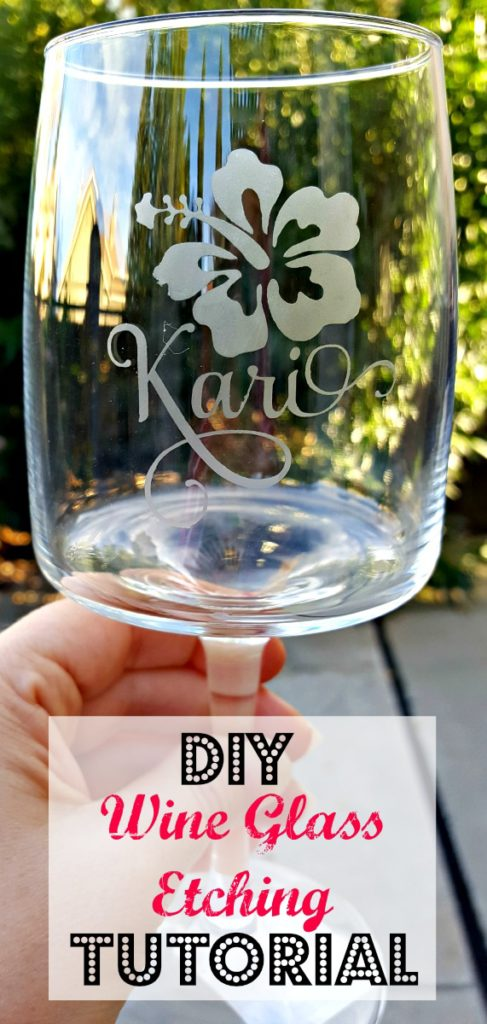 DIY Etched Glass Easy Step by Step Tutorial!