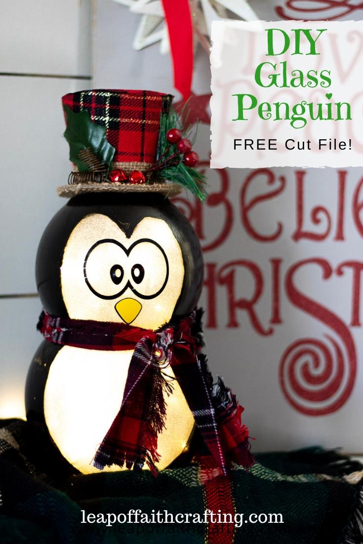 penguin christmas decoration pinterest