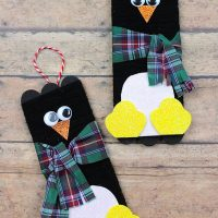 Penguin Crafts:  A Roundup of Cute Penguin Craft Ideas