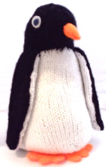 Knitted Penguin Pattern