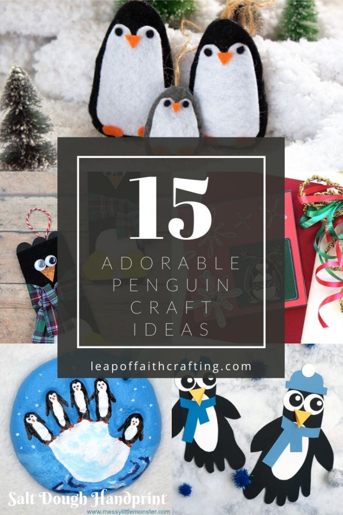 penguin craft ideas pinterest