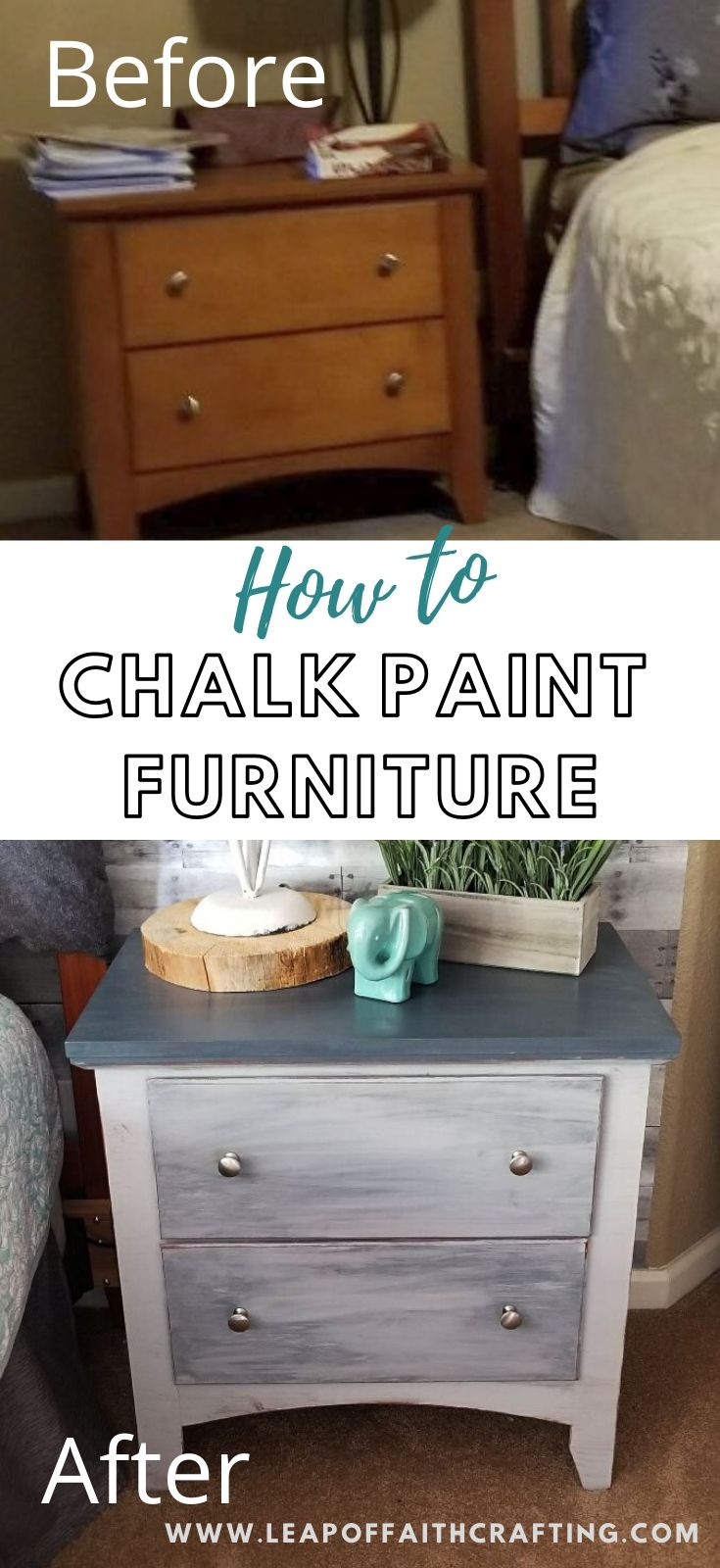 chalk paint furniture before and after pinterest