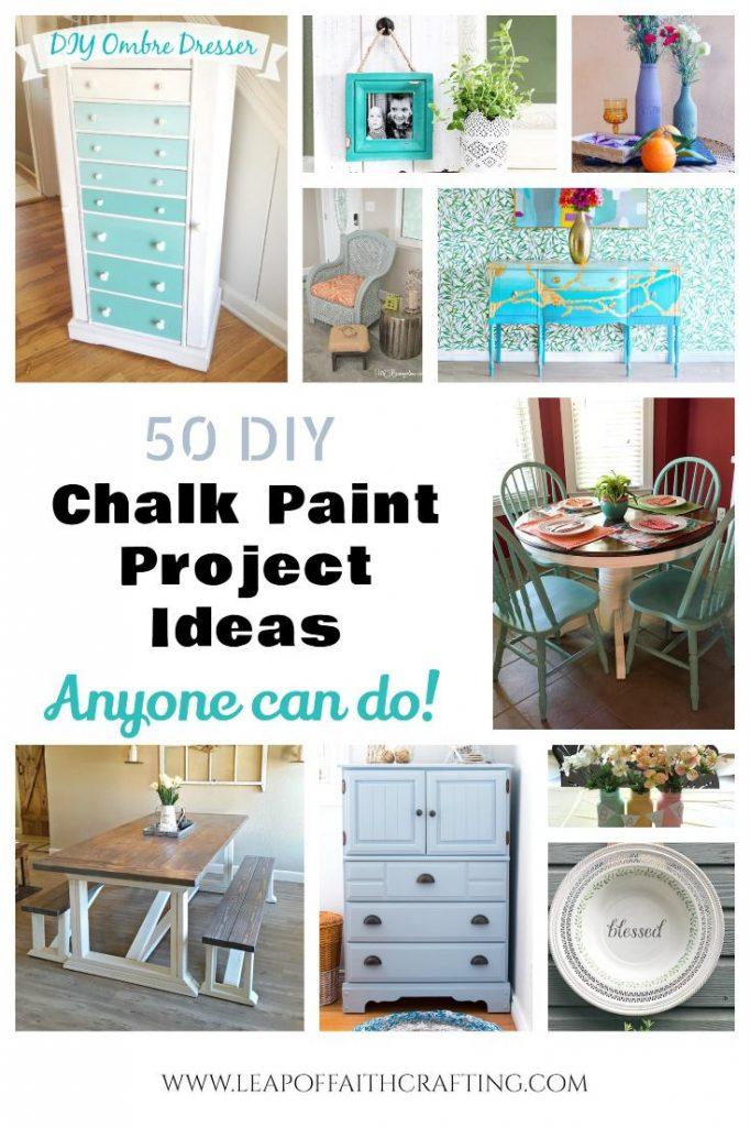 chalk paint ideas pinterest