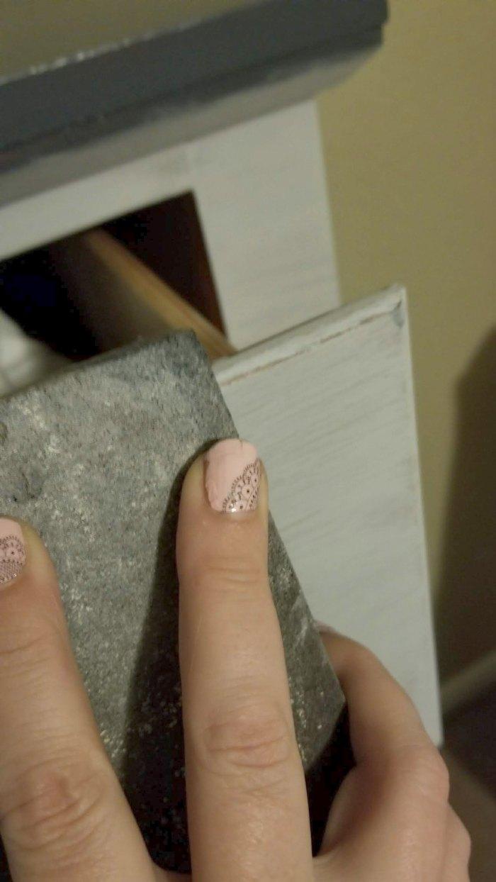 distressing chalk paint
